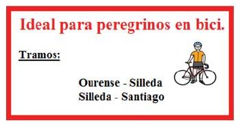 Informacion turistica del camino de Santiago de Compostela