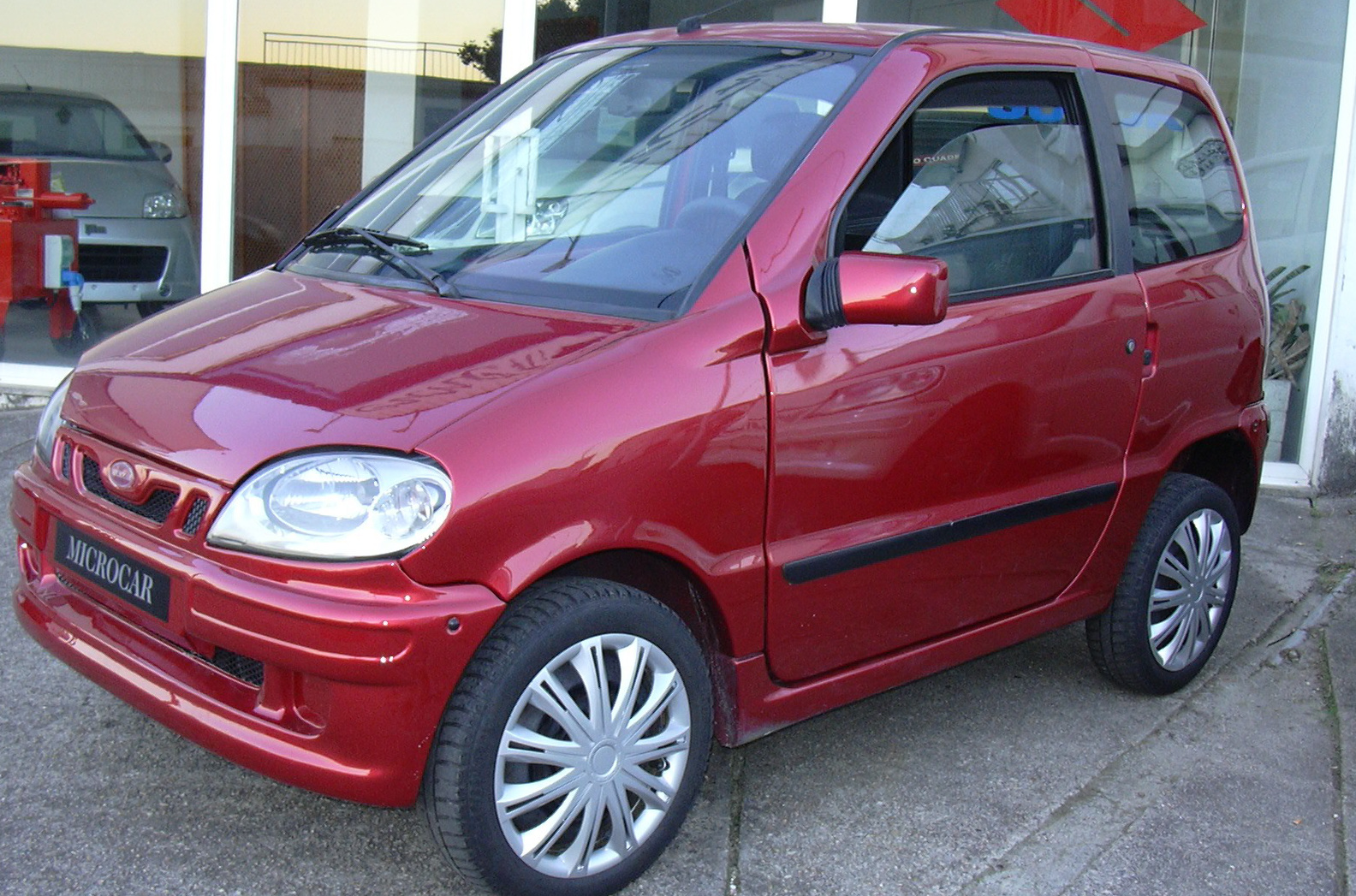 microcar Virgo Rojo (7)
