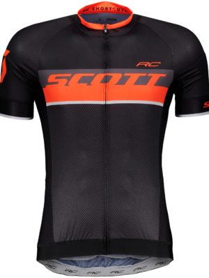 maillot-scott-rc-pro-manga-corta-negro-naranja-2018-2648214656