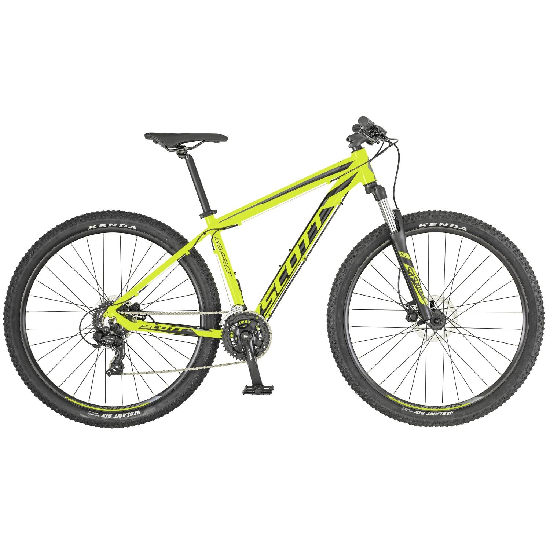 3a1fa2a36e6 ASPECT 960 29″ BICICLETA SCOTT AMARILLA GRIS 2019 269795   RG Bikes