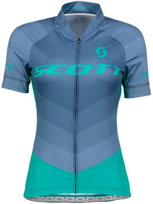maillot-manga-corta-chica-bicicleta-scott-ws-rc-pro-azul-verde-turquesa-2648755843