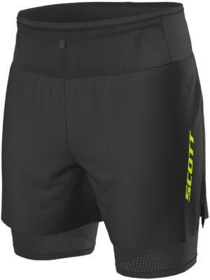 pantalon-corto-scott-trail-running-rc-run-hybrid-negro-amarillo-2701631040