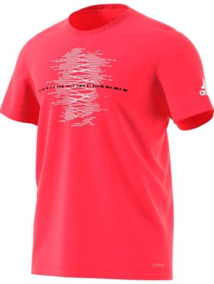 camiseta-deportiva-calle-chico-adidas-mcode-graph-rojo-shock-dv2967-rg-bikes-silleda