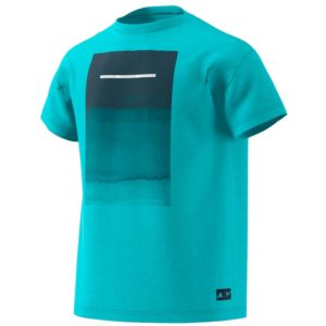 camiseta-deportiva-calle-chico-adidas-parley-grap-azul-spirit-dv2962-rg-bikes-silleda