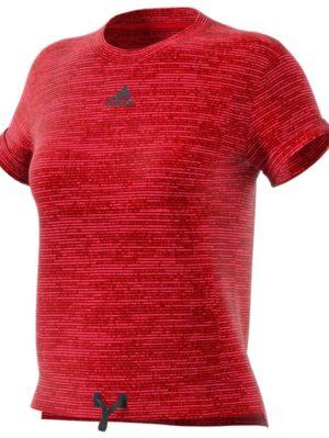 camiseta-deportiva-padel-tenis-chica-mujer-adidas-mcode-roja-dw8872-rg-bikes-silleda