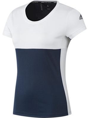 camiseta-deportiva-padel-tenis-chica-mujer-adidas-t16-cc-w-azul-blanca-aj8781-rg-bikes-silleda