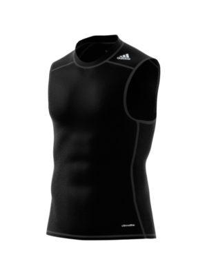 camiseta-deportiva-padel-tenis-chico-son-mangas-tirantes-adidas-tirantes-tf-base-sl-negra-aj4957-rg-bikes-silleda