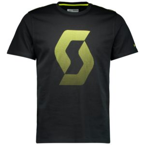 camiseta-manga-corta-casual-chico-scott-co-icon-factory-team-s-sl-negro-amarilla-250433-rg-bikes-silleda-2504335024