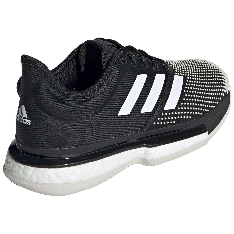 Reino Unido más barato mejores ofertas en Zapatilla Solecourt Boost W chica Clay Color Core Black/core Black/ftwr Whi  Adidas/tenis/padel G26305