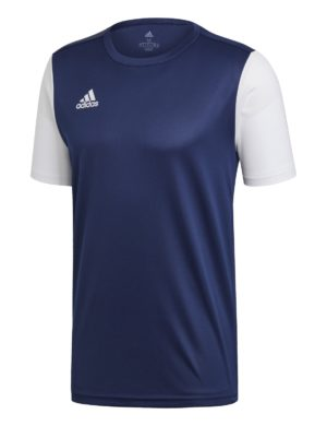 camiseta-manga-corta-adidas-padel-tennis-adidas-estro-19-azul-oscuro-blanco-dp3232-rg-bikes-silleda