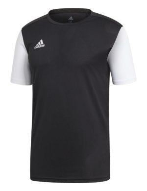 camiseta-manga-corta-adidas-padel-tennis-adidas-estro-19-negro-blanco-dp3233-rg-bikes-silleda