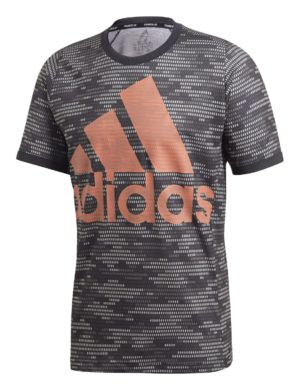 camiseta-manga-corta-adidas-padel-tennis-roland-garros-adidas-logo-pblue-negro-naranja-fj3449-rg-bikes-silleda