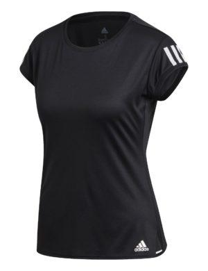 camiseta-manga-corta-chica-mujer-adidas-padel-tennis-adidas-club-3-str-negro-fk6972-rg-bikes-silleda