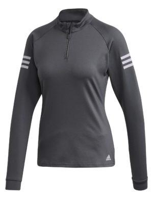 camiseta-manga-larga-chica-mujer-adidas-padel-tennis-adidas-club-gris-oscuro-fk7001-rg-bikes-silleda