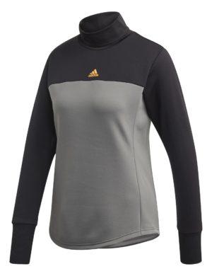 camiseta-manga-larga-chica-mujer-adidas-padel-tennis-adidas-therm-midlayr-w-gris-negro-dz2103-rg-bikes-silleda