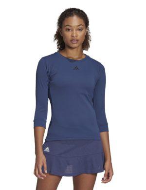 camiseta-manga-tres-cuartos-chica-mujer-adidas-padel-tennis-adidas-3-4-top-heat-rdy-azul-fk0755-rg-bikes-silleda-2