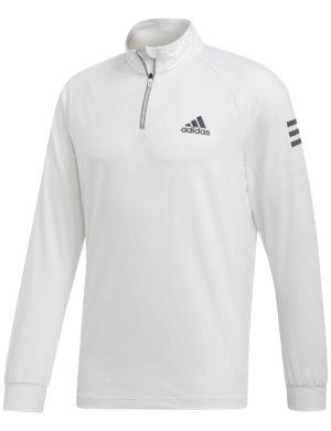 chaqueta-sudadera-camiseta-manga-larga-adidas-padel-tennis-adidas-midlayer-club-blanca-dp2879-rg-bikes-silleda