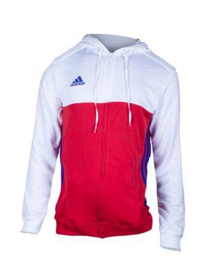 chaqueta-sudadera-chandal-chica-mujer-adidas-padel-tennis-adudas-mt-t16-w-roja-blanca-aj5644-rg-bikes-silleda
