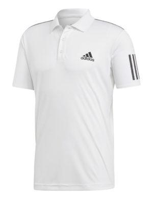 polo-manga-corta-adidas-padel-tennis-adidas-club-3str-blanco-negro-du0849-rg-bikes-silleda