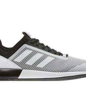 zapatillas-adidas-chica-mujer-padel-tennis-adidas-defiant-bounce-2-w-blanco-negro-eh0952-rg-bikes-silleda