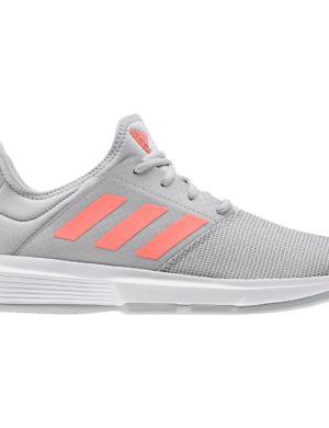 zapatillas-adidas-chica-mujer-padel-tennis-adidas-gamecourt-w-gris-naranja-eg2015-rg-bikes-silleda