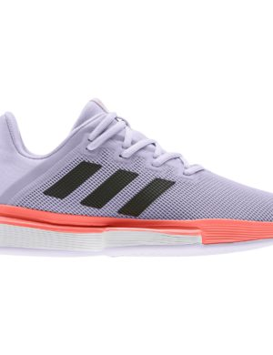 zapatillas-adidas-chica-mujer-padel-tennis-adidas-solematch-bounce-w-violeta-naranja-eg2218-rg-bikes-silleda