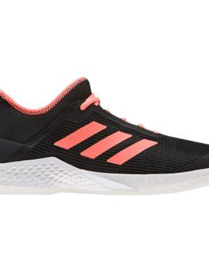 zapatillas-adidas-padel-tennis-adizero-club-negro-naranja-ef2771-rg-bikes-silleda