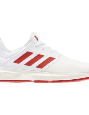 zapatillas-adidas-padel-tennis-gamecourt-m-blanca-roja-eg2006-rg-bikes-silleda