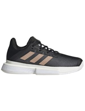 zapatillas-adidas-chica-solematch-bounce-w-negro-bronce-fu8125-rg-bikes-silleda