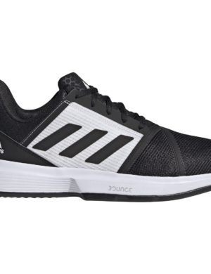 zapatillas-adidas-chico-zapatilla-courtjam-bounce-m-clay-negras-blancas-fx1497-rg-bikes-silleda
