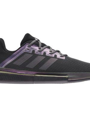 zapatillas-adidas-chico-zapatilla-solematch-bounce-m-clay-negro-violeta-fx1736-rg-bikes-silleda