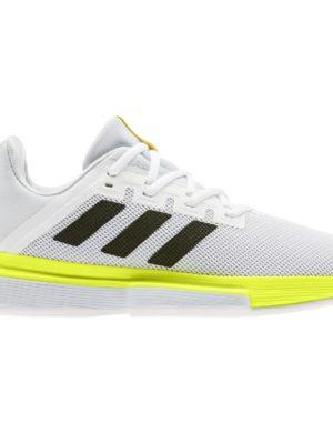 zapatillas-chica-adidas-zapatilla-solematch-bounce-w-blanca-amarilla-fx1741-rg-bikes-silleda